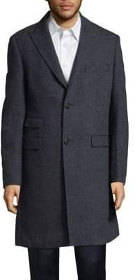 Calvin Klein Button Front Rain Coat