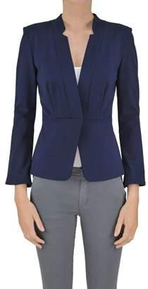 Pinko Women's Blue Viscose Blazer.
