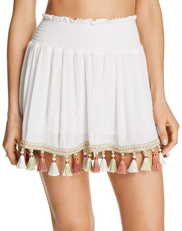 Surf.Gypsy Tassel Mini Skirt Swim Cover-Up