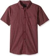 RVCA Men's Thatll Do Plaid 2 Short Sleeve Woven Shirt