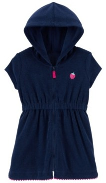 Carter's Baby Girls Strawberry Hooded Cover-Up