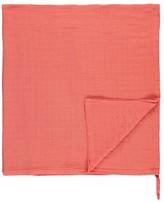 MOUMOUT Eco Cotton Gauze Plaid Swaddle 120x120 with approval label