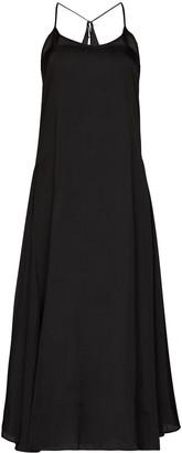 LVIR Maxi-Length Slip Dress