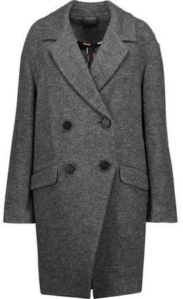 Diane von Furstenberg Finola Double-Breasted Wool Coat
