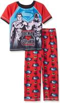 Justice League Big Boys Batman Vs Superman 2 Pc Pant Set, Black