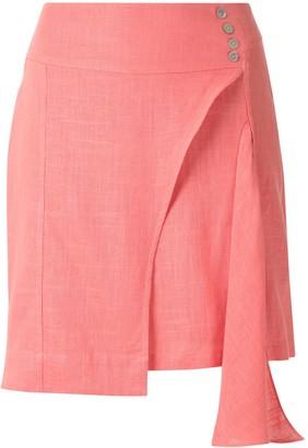 Olympiah Ylang asymmetric skirt