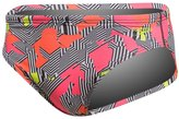 Speedo Men's Maze Printed Swim Brief Swimsuit 8138502
