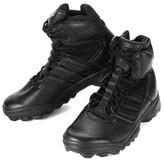 adidas Men's Olympic Sport Tactical Black Leather Boots - 10.5 M