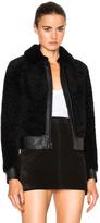 Saint Laurent Lamb Shearling Bomber Jacket