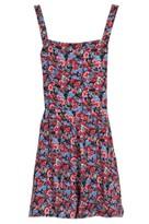 Select Fashion Fashion Womens Multi Floral Dungaree - size 6