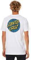 Santa Cruz Static Dot Mens Tee White