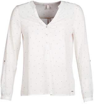 Esprit VARABINOU women's Blouse in White