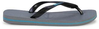 Havaianas Logo Flip Flops