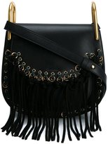 Chloé Small 'Hudson' fringed shoulder bag - women - Calf Leather/Suede - One Size