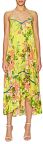 Plenty by Tracy Reese Print Easy Slip High Low Dress