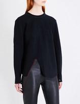 Proenza Schouler Zipped-back neoprene sweatshirt