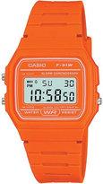 Casio F91wc4a2ef Unisex Resin And Silicone Digital Watch