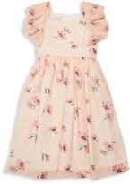 Pippa & Julie Girl's Floral Flare Dress