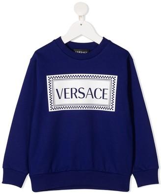 Versace 90s Vintage Logo Sweatshirt