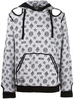 Kokon To Zai monogram Inside Out hoodie - unisex - Cotton - S