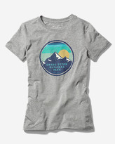 Eddie Bauer Women's Graphic T-Shirt - Grand Teton