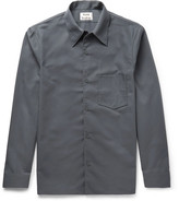 Acne Studios Francisco Twill Shirt - Gray