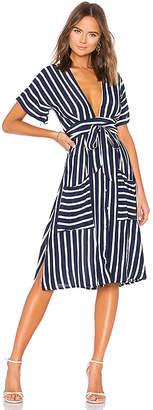 Faithfull The Brand Milan Midi Dress