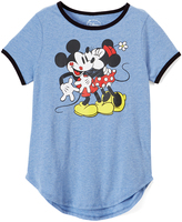 Jerry Leigh Mickey & Minnie Mouse Crazy Love Tee - Juniors