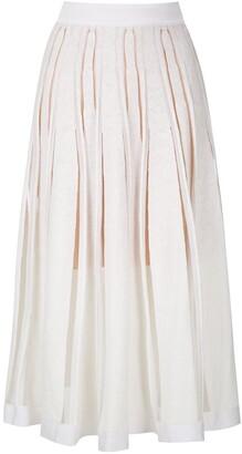 Cecilia Prado knitted Nayla midi skirt
