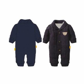 Steiff Baby_Boy's mit suer Teddybarapplikation Swimsuit