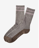 Express striped socks