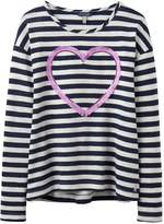 Joules Girls Cora Embellished Jersey Top