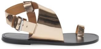 Isabel Marant Joostee Metallic Leather Slingback Sandals