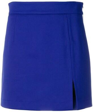 Ssheena Slit Mini Skirt