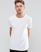 Esprit Basic Crew Neck T-Shirt In White