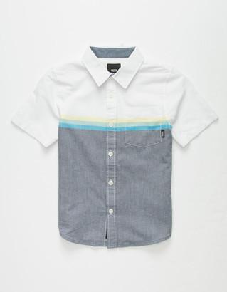 Vans Houser Little Boys Button Up Shirt (4-7)