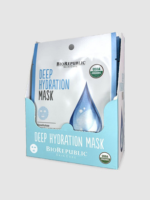 Biorepublic Skincare Deep Hydration Organic Facial Sheet Masks