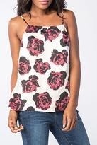 Kensie Romantic Roses Top