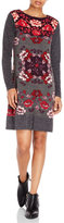 Yumi Floral Sweater Dress