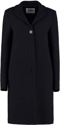 MSGM Wool Blend Coat