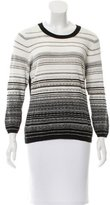 Diane von Furstenberg Striped Crew Neck Sweater