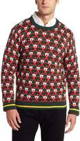 Alex Stevens Men's 8 Bit Santa Sweater