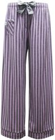 Boxercraft Womens Cotton Flannel Striped Sleep Pants, (3-5)