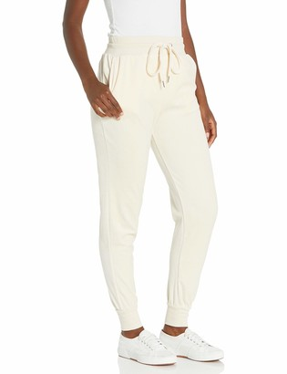 True Religion Women's Tall Size Velour High Waisted Slim fit Jogger Sweatpant