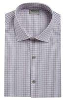 Kenneth Cole Reaction Slim-Fit Gingham Dress Shirt