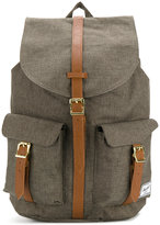 Herschel front pockets flappy backpack