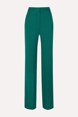 Antonio Berardi Crepe Wide-leg Pants - Green