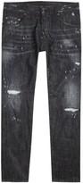 Dsquared2 Skater Embellished Tapered Jeans