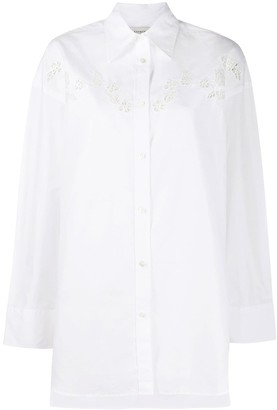 Coach Floral Embroidered Shirt