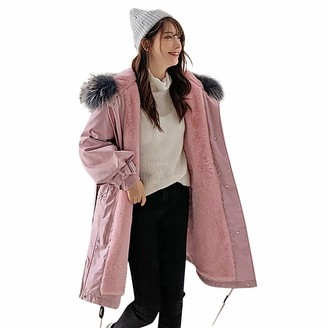 Toamen Women Womens Coat Toamen Winter Warm Hooded Jacket